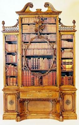 chippendale-biblioteca