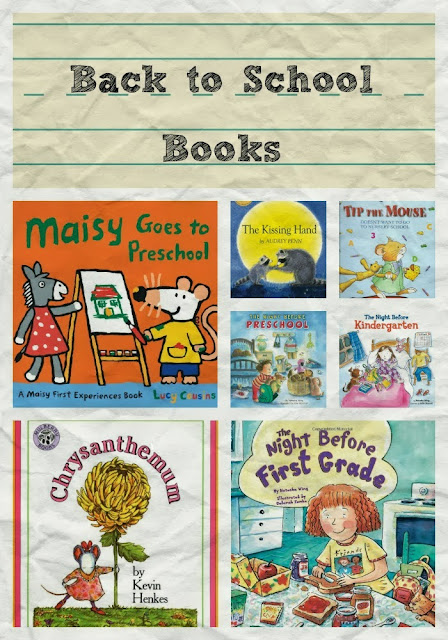 back to school books preschool kindergarten first grade