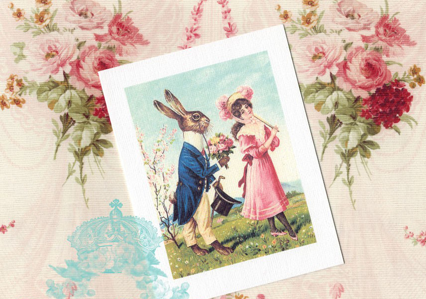 Romantic cards romantic easter cards romantic easter cards negle Images