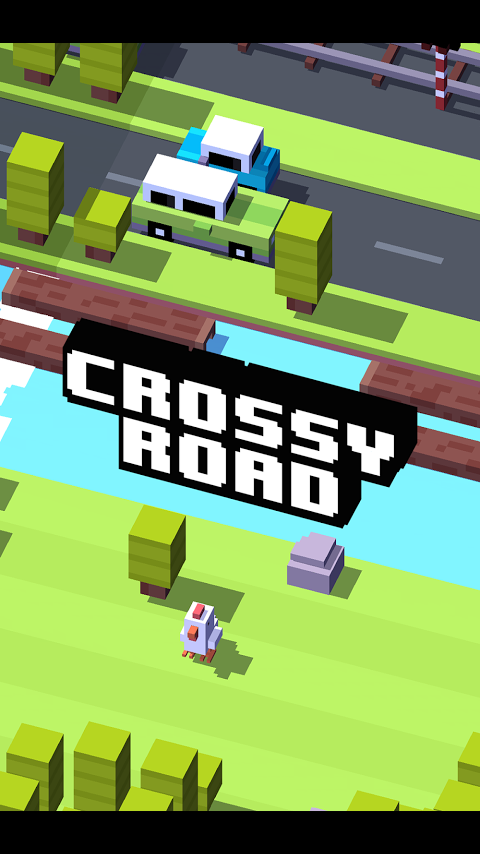 Crossy Road: pantalla inicial