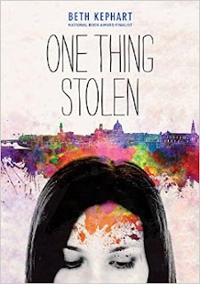 http://www.amazon.com/One-Thing-Stolen-Beth-Kephart/dp/1452128316/