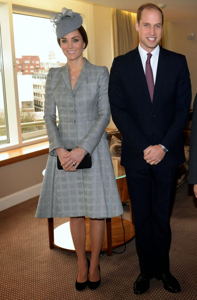Kate Middleton Flaunts Tiny Baby Bump During First Public Appearance