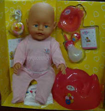 New Zapf Creation Baby Born can Lachrymation(menitiskan Air Mata )Now RM65 only!!!