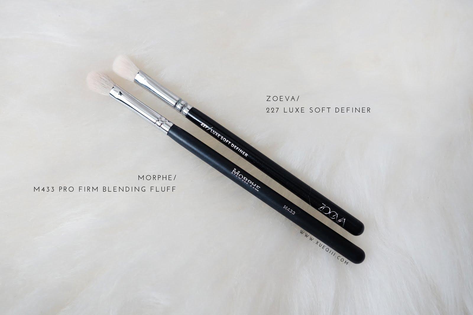 Morphe M433 Pro Firm Blending Fluff Brush at BEAUTY BAY