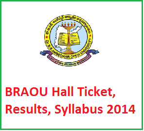 Manabadi BRAOU UG Degree Admission Entrance Test Results Download 2014