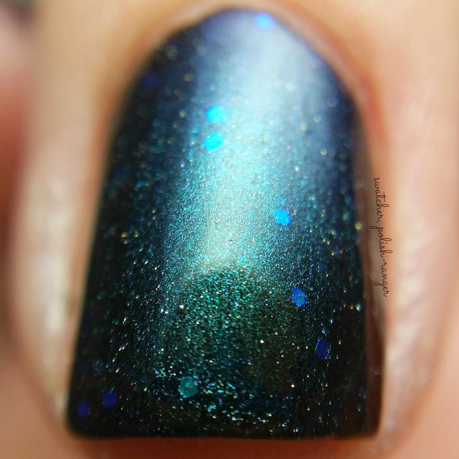 swatcher, polish-ranger | Wingdust Collections Aurora Sky macro