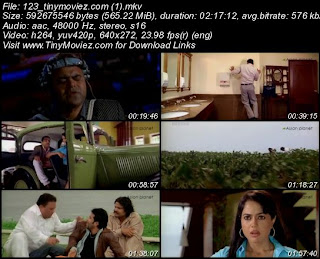 One Two Three (2008) DVDRip 550MB