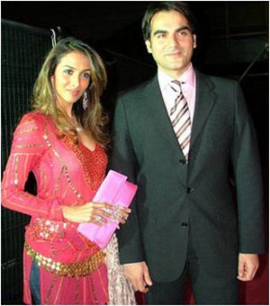 Arbaaz Khan Indian actor Wedding Pictures With Actress Malaika Arora