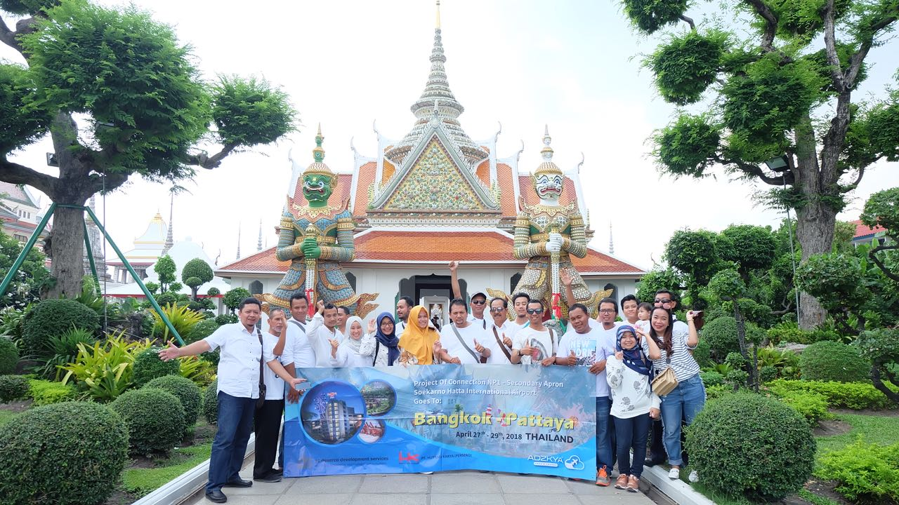 BANGKOK PATTAYA 27-29 APRIL 2018 WITH PT HUTAMA KARYA & DESERCO