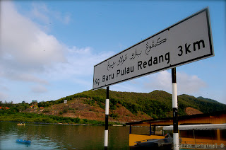 Redang Fishing VIllage signboard