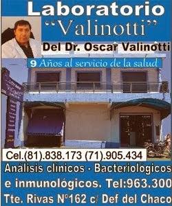 LABORATORIO VALINOTTI