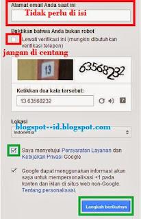 Membuat Email Gmail Tanpa Verifikasi No HP