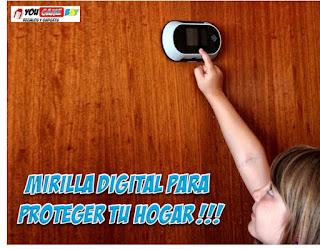 mirilla digital de seguridad