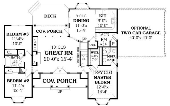 Planos de casas peque as planos de casas 100 metros cuadrados - Planos de casas de 100 metros cuadrados ...