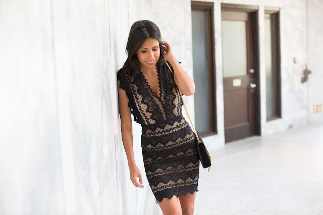 nightcap lace dress, the stylist la, holiday lbd, what to wear to holiday party