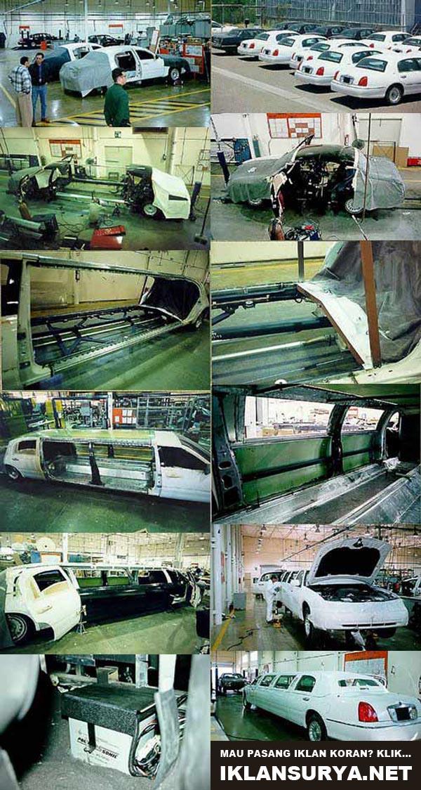 pembuatan mobil limosin