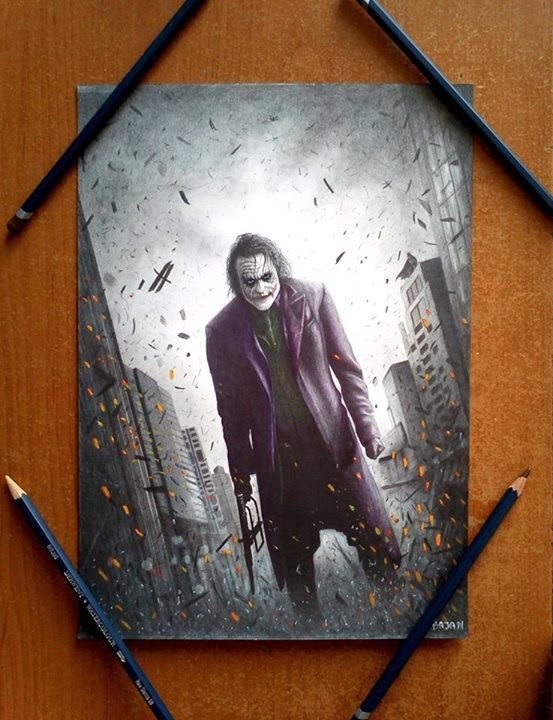 07-Joker-Batman-Łukasz-Andrzejczak-Colored-Pencil-WIP-Drawings-www-designstack-co
