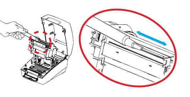 Hướng dẫn vệ sinh đầu in của máy in mã vạch bixolon