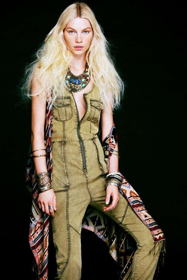 FREE PEOPLE SIDEWALK SAFARI MAY 2013 LOOKBOOK