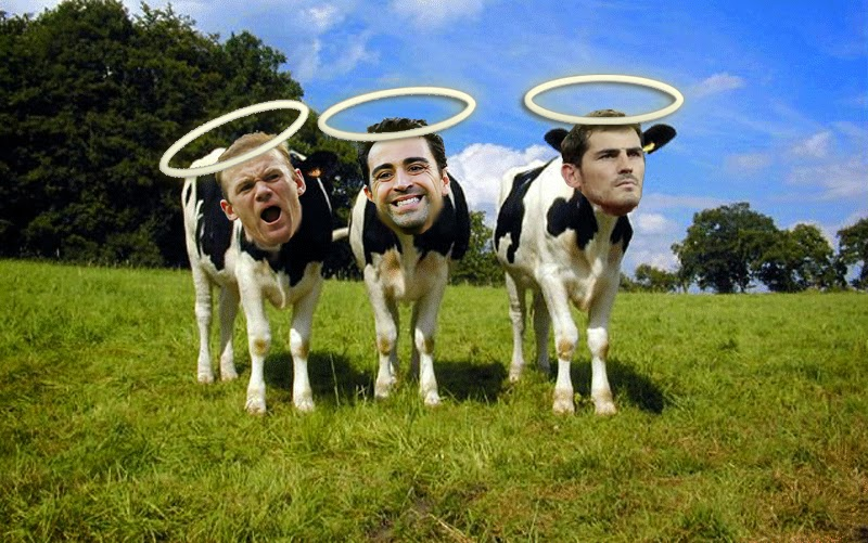 Rooney, Xavi and Casillas - The Sacred Cows
