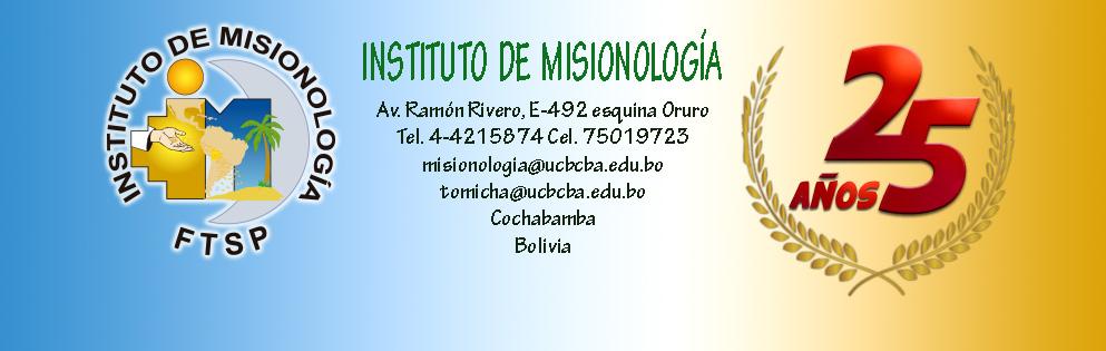 INSTITUTO LATINOAMERICANO DE MISIONOLOGÍA