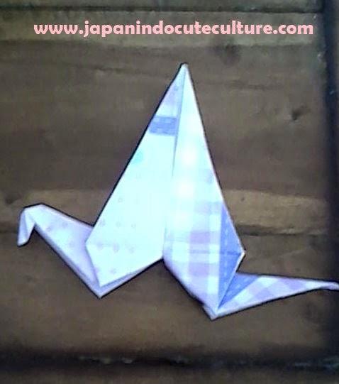 Tutorial Cara Mudah Membuat Origami Burung Bangau Step by Step
