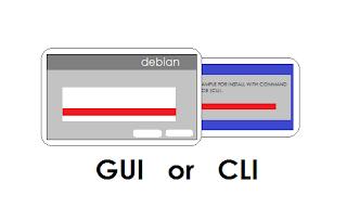Perbedaan Langkah Instalasi Debian Berbasis GUI dan CLI