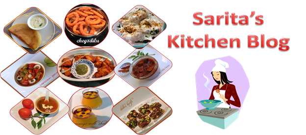Sarita's Kitchen Blog
