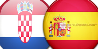 Prediksi Skor Kroasia vs Spanyol | Jadwal Euro Cup Selasa 19 Juni 2012