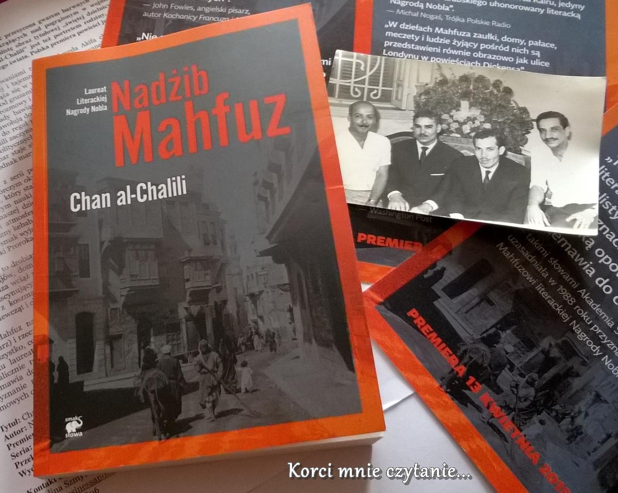 """Nadżib Mahfuz """"Chan al-Chalili"""""""