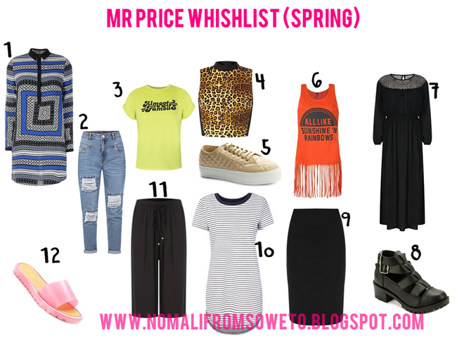 Clothes I'd Buy From Mr Price