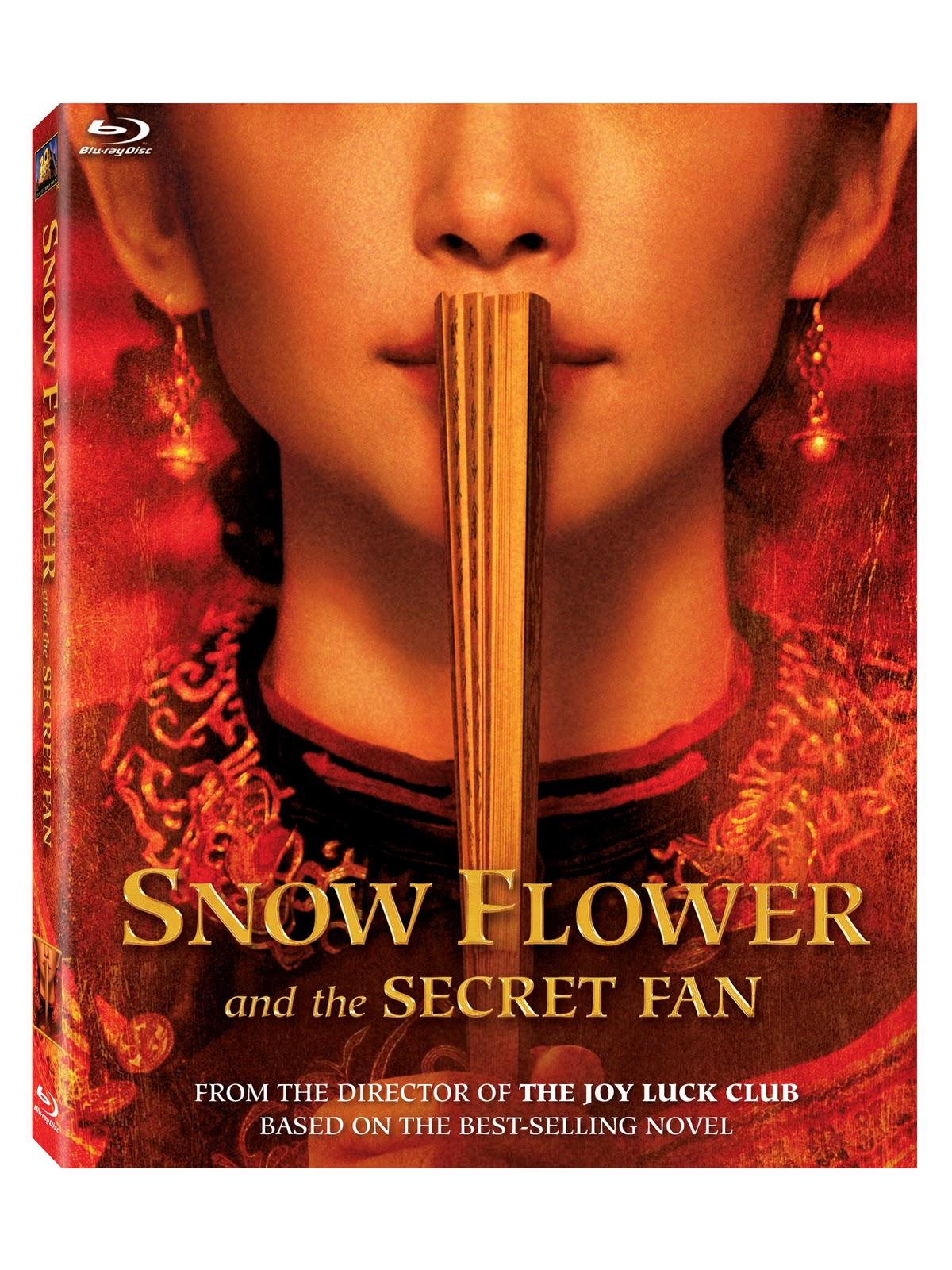 Book Sp l ot Reviews DVD & Book Giveaway Snow Flower & The Secret Fan