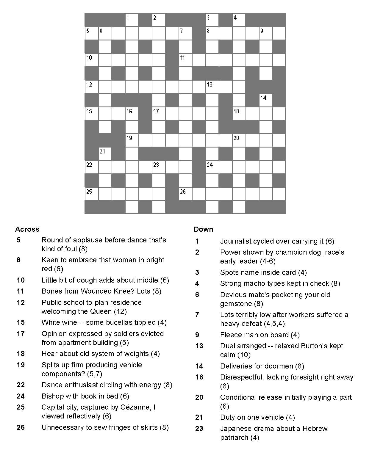 Order Crossword Clue  Letters