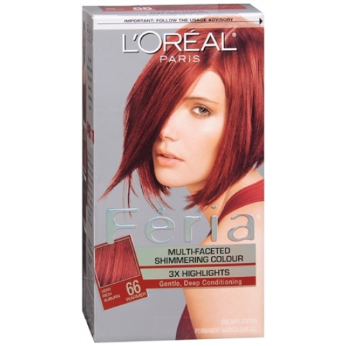 dye in intense violet loreal red hair color permanent hair color 6 66