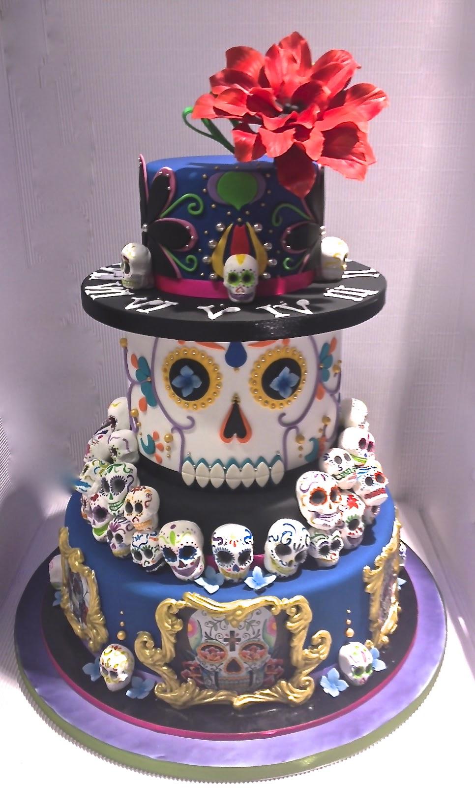 skull all cake ideas - photo #33