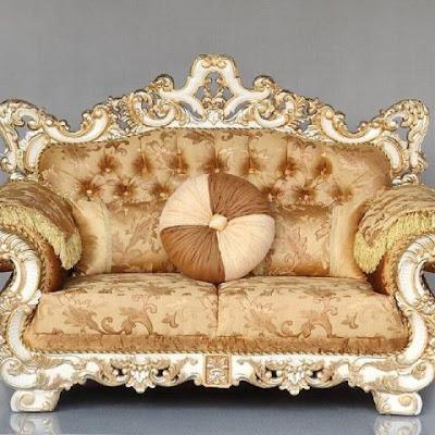 sofa classic eropa duco putih,furniture mebel jati klasik,furniture classic jepara,code classic furniture A202