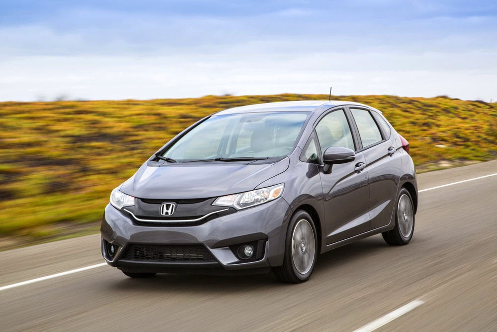 Driving the 2015 Honda Fit