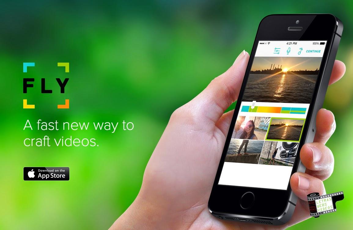 Fly, un editor de vídeo