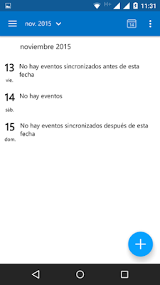 Como programar una tarea Calendario Outlook Movil