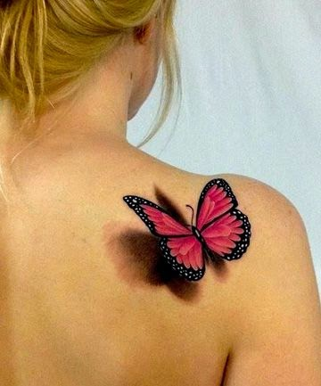 Butterfly 3D tattoos