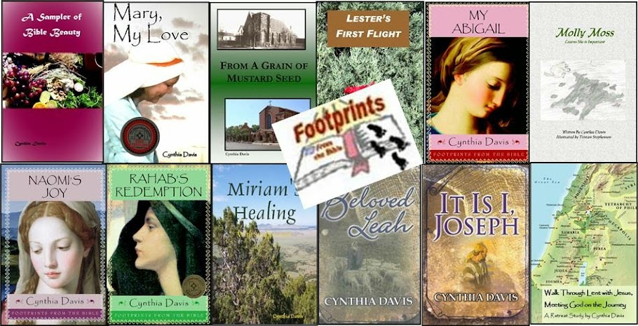 Footprints From the Bible: Cynthia Davis Author