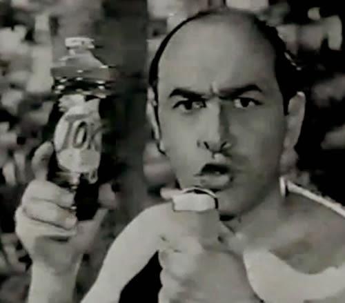 Campanha do Pinho Tok, de 1968, protagonizada por Edgard Gianullo.