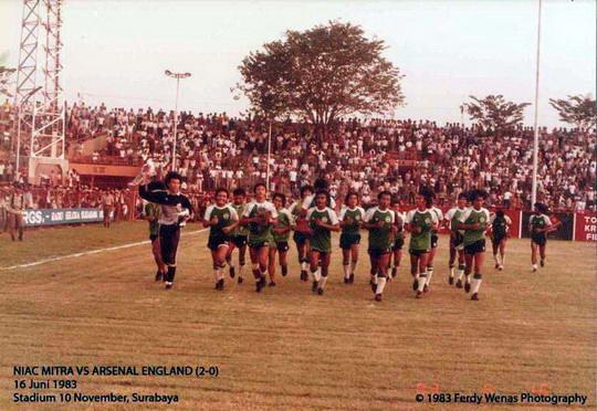39734156066646488014818 Sejarah Manis Sepakbola Indonesia, Klub Lokal Mengalahkan Arsenal 2 0