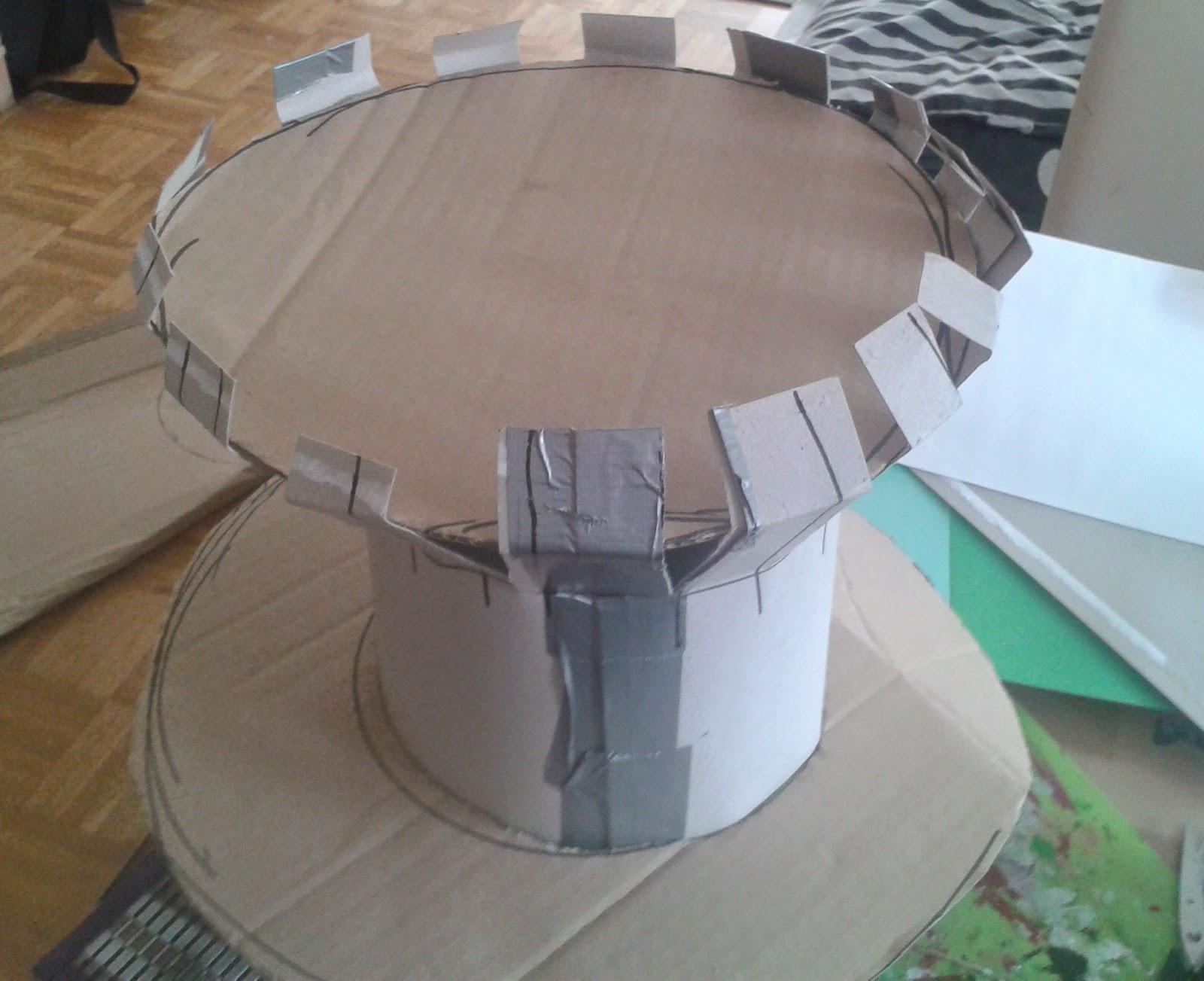 mialamara s blog verr ckter hutmacher hut mit spitze. Black Bedroom Furniture Sets. Home Design Ideas
