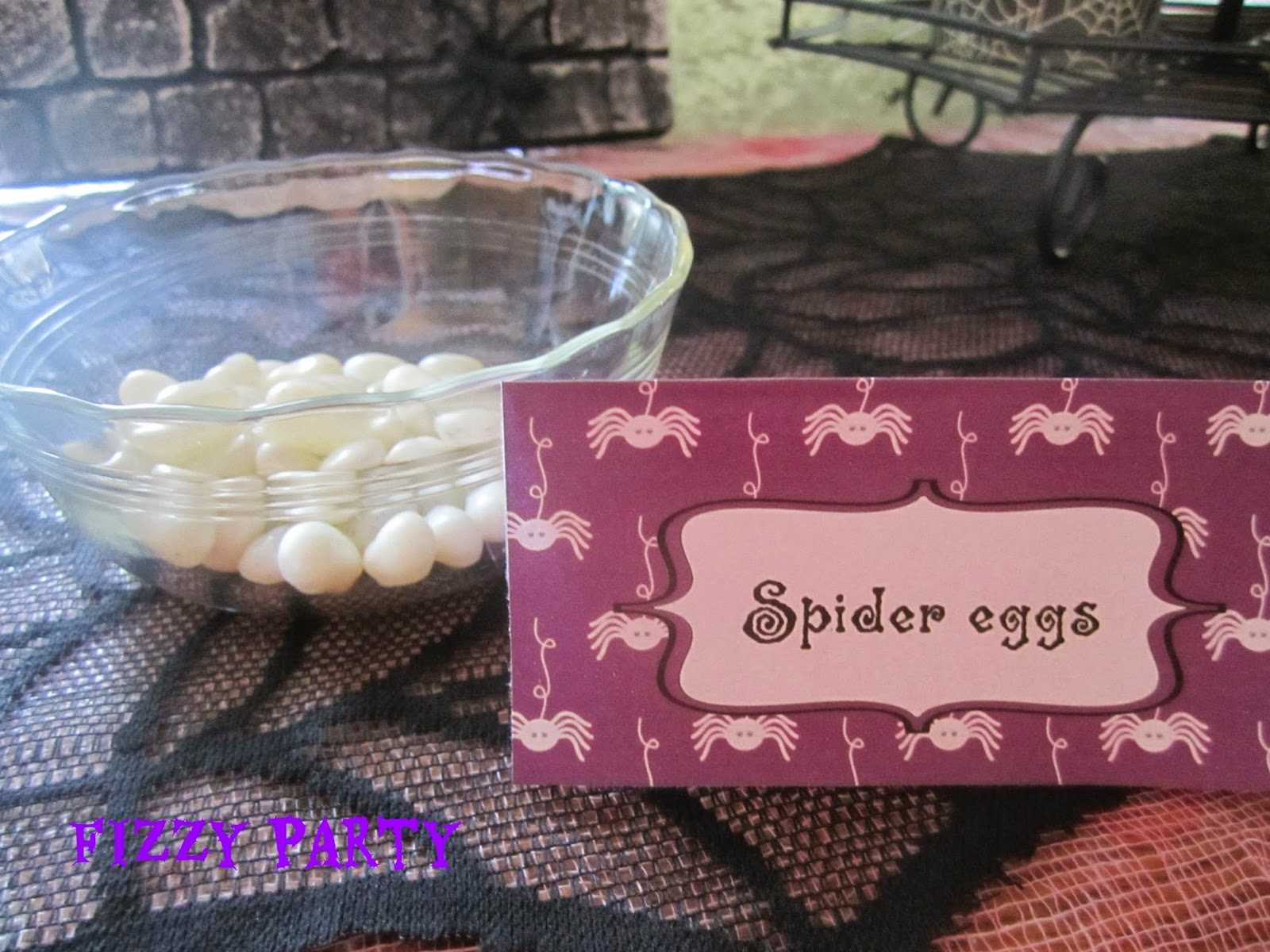 Fizzy Party: Spider Party Desserts