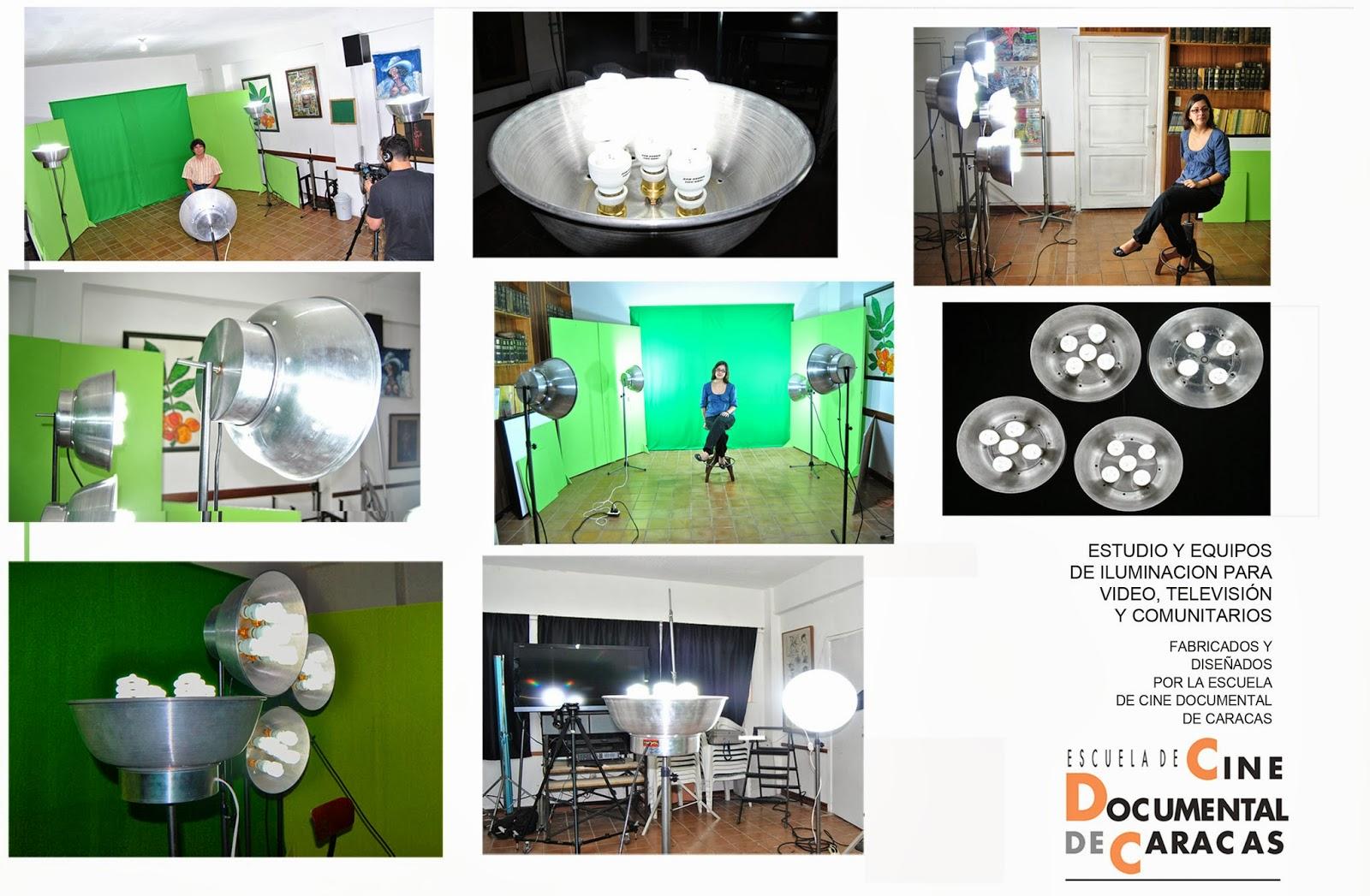 Escuela de cine documental de caracas tecnolog a audiovisual equipos artesanales para - Iluminacion cinematografica ...