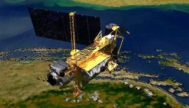 Foto Satelit UARS NASA Jatuh di Kanada (BUMI)