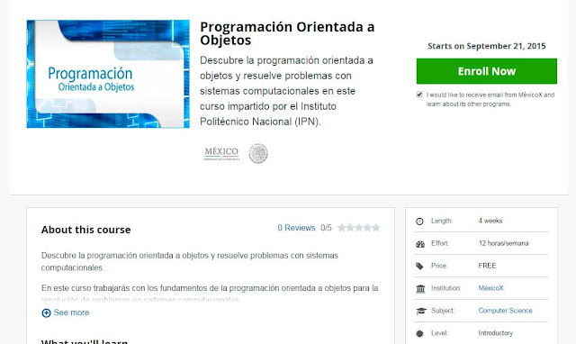 Curso Programación Orientada a Objetos
