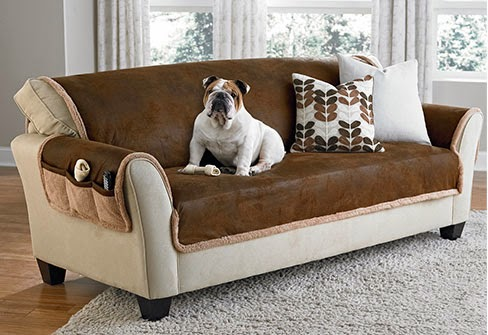 A New Arrival That Is Kid And Pet Friendly! Vintage Leather Furniture Covers;  A Distressed Look And Soft Feel Of Broken In Leather On One Side And ...