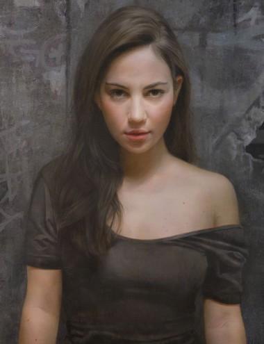 lukisan realistik